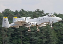 52 FW A-10C's Deploy To RAF Lakenheath
