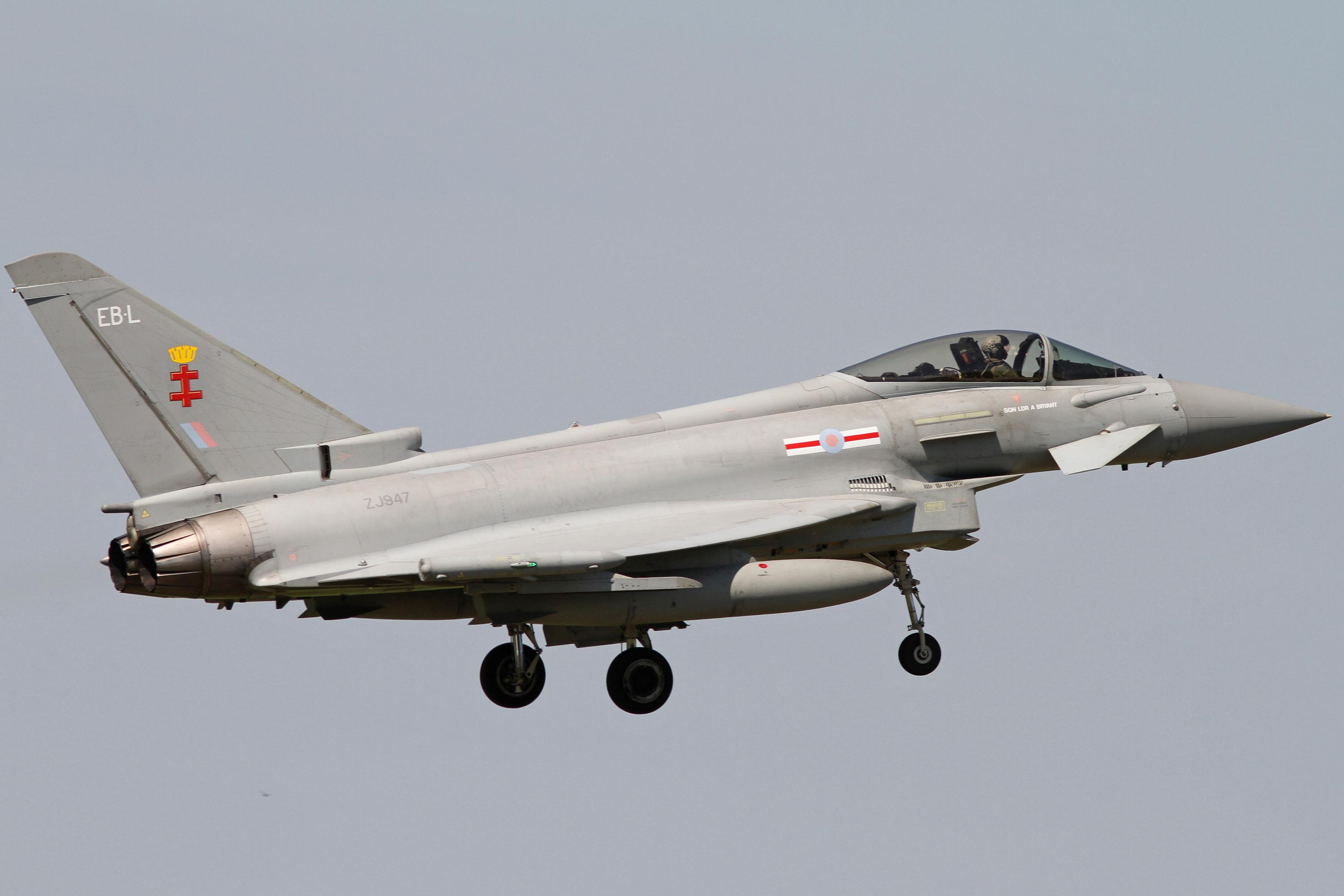 41 Squadron Typhoons  –  RAF Coningsby