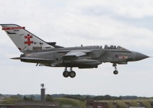 Arrivals For RAF Waddington Airshow 2014 (Part1)