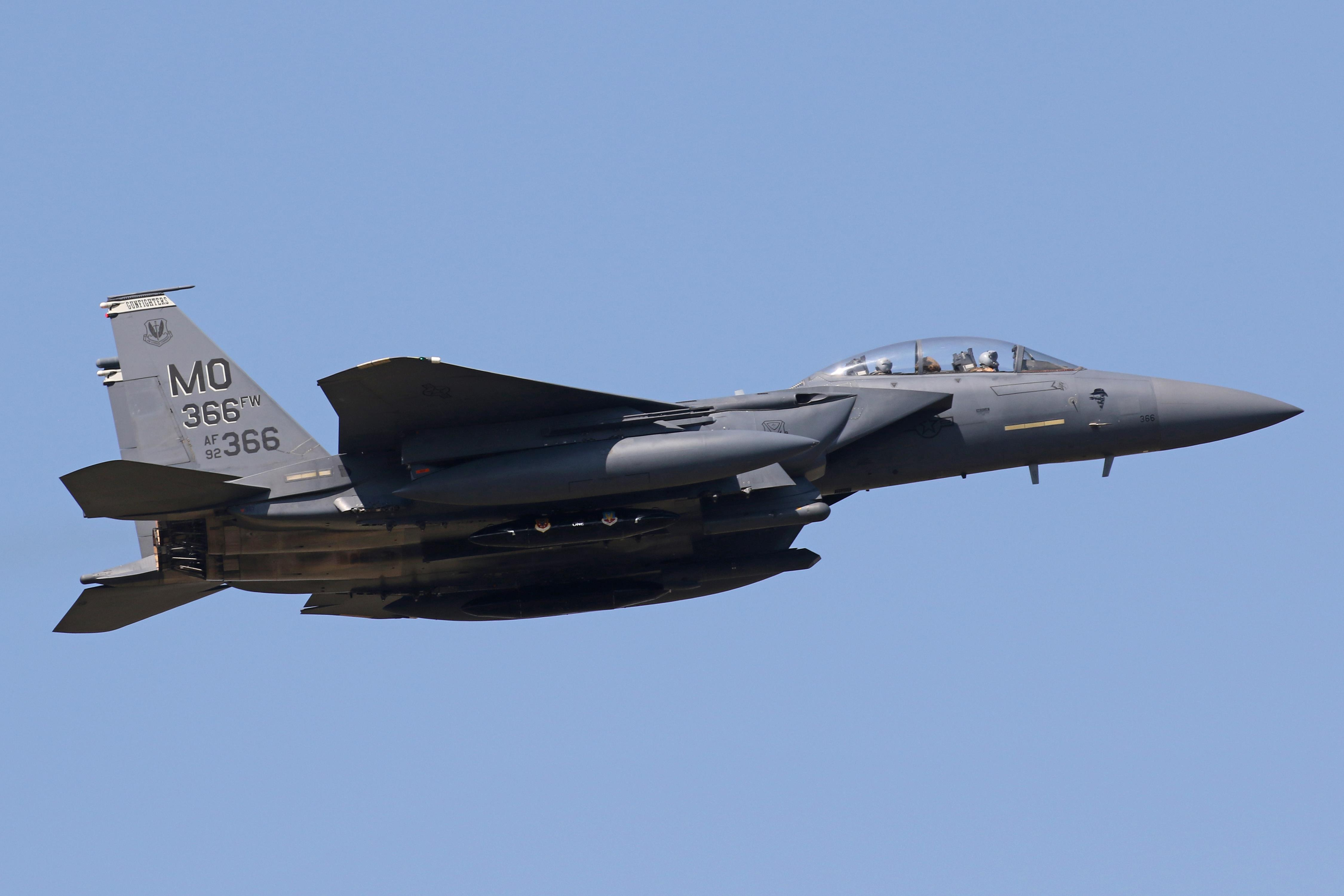 F-15E Bold Tigers from 391st FS (366 FW) Return to USA via RAF Lakenheath, after a six month deployment in the Middle East
