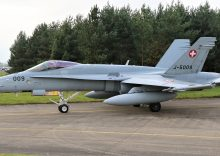 Swiss Air Force Deployment to RAF Leeming For Exercise Yorknite