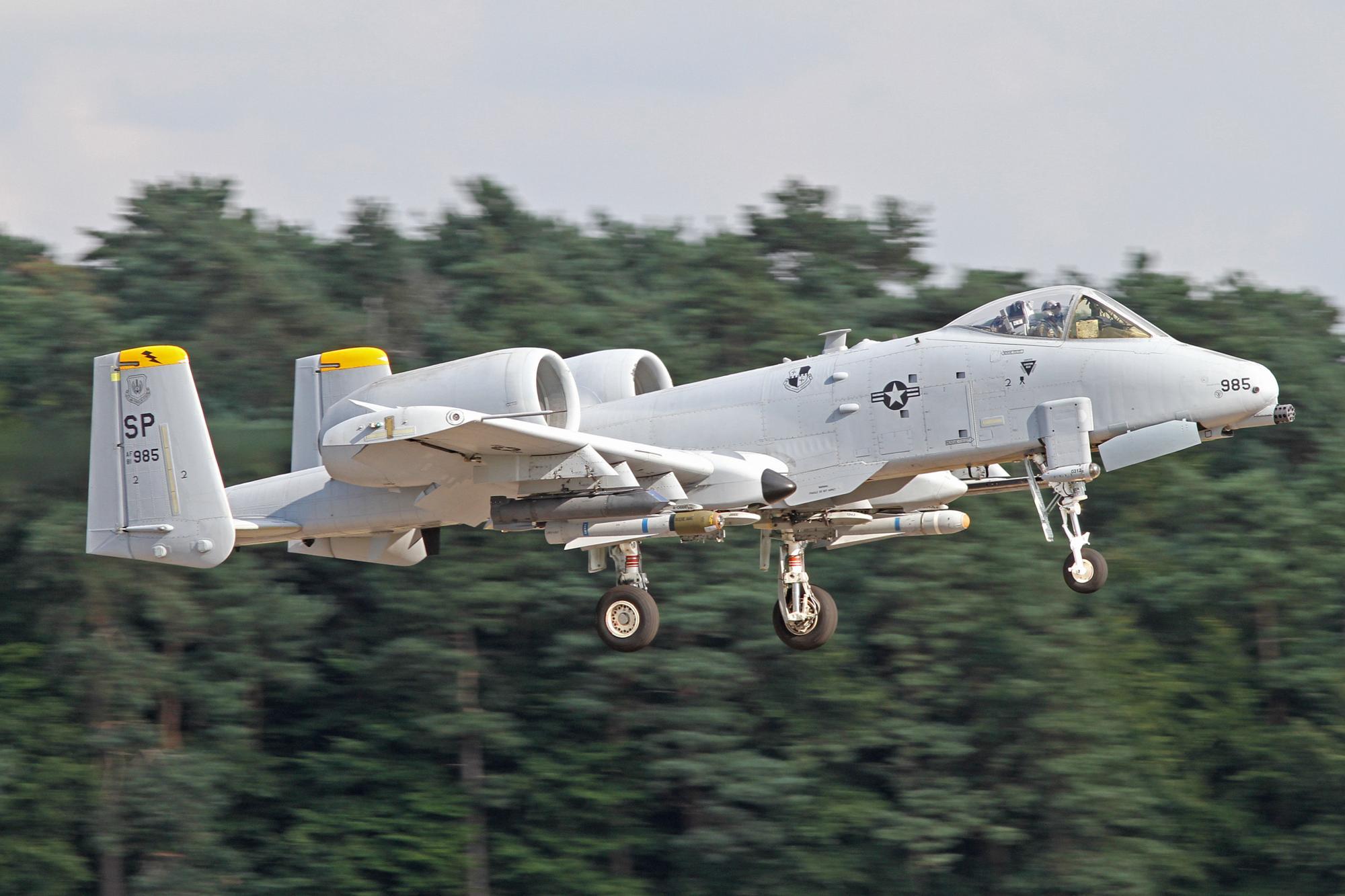52 FW A-10C's Deploy To RAF Lakenheath