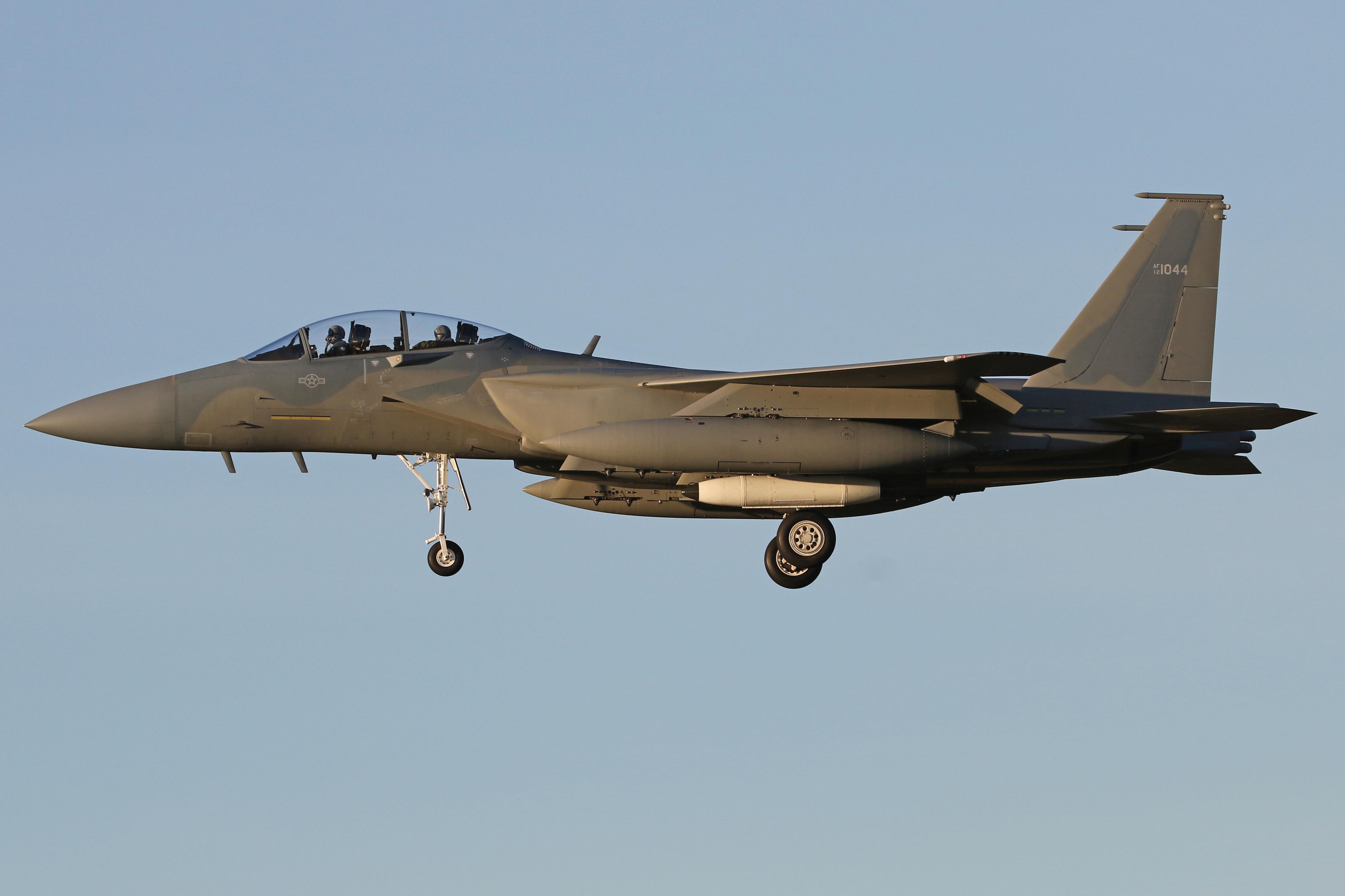 F-15SA Deliveries For Royal Saudi Air Force stage through RAF Lakenheath (2nd December 2019)